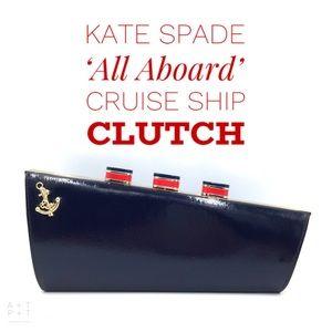 Kate Spade 'All Aboard' Cruise Ship Clutch
